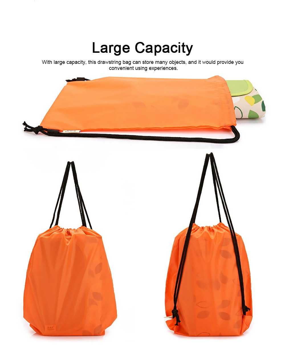 Minimalist Waterproof Moisture-proof Drawstring Shoulders Bag for Storing Picnic Mat Daily Objects Outdoors Accessories 3
