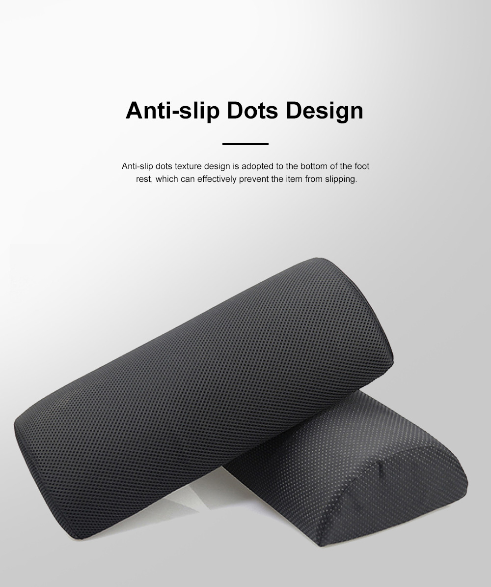 Functional Arch High-density Foam Foot Rest, Delicate Portable Anti-slip Office Study Room Foot Pad Mat 1