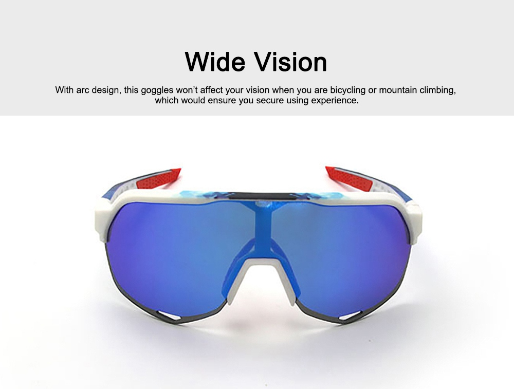 Functional Minimalist Outdoors Sports Mountain Climbing Bicycling Unsex Goggles Sunglasses Eye Protection Glasses 4