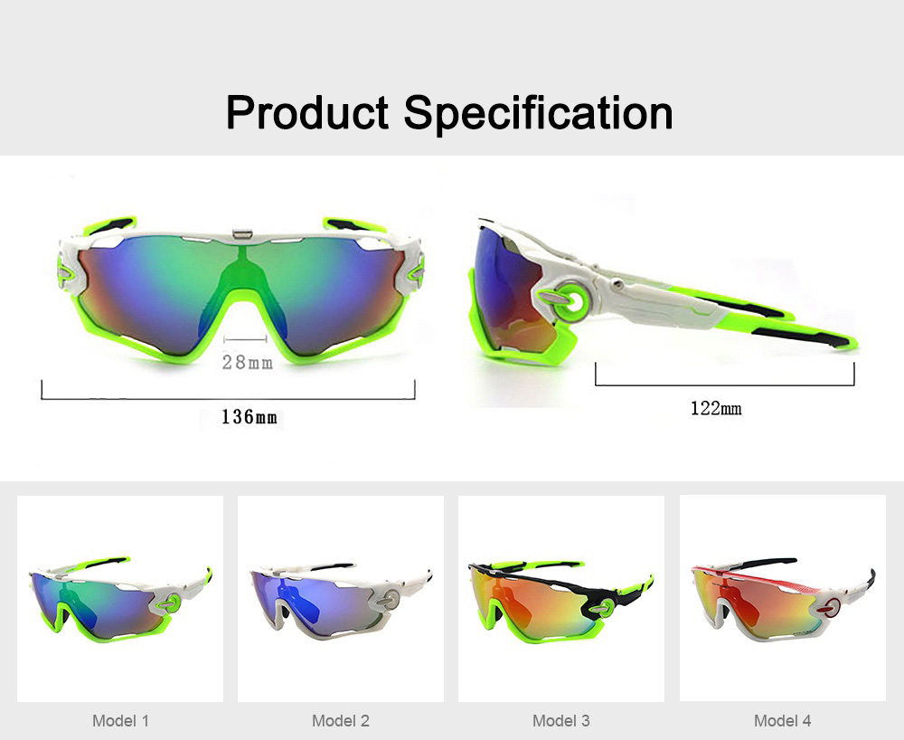 Multifunctional Stylish Wind Sand Resistance Outdoors Sports Mountain Climbing Bicycling Unsex Goggles Eye Protection Sunglasses 6