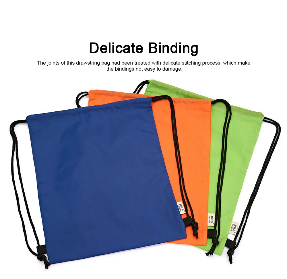 Minimalist Waterproof Moisture-proof Drawstring Shoulders Bag for Storing Picnic Mat Daily Objects Outdoors Accessories 2
