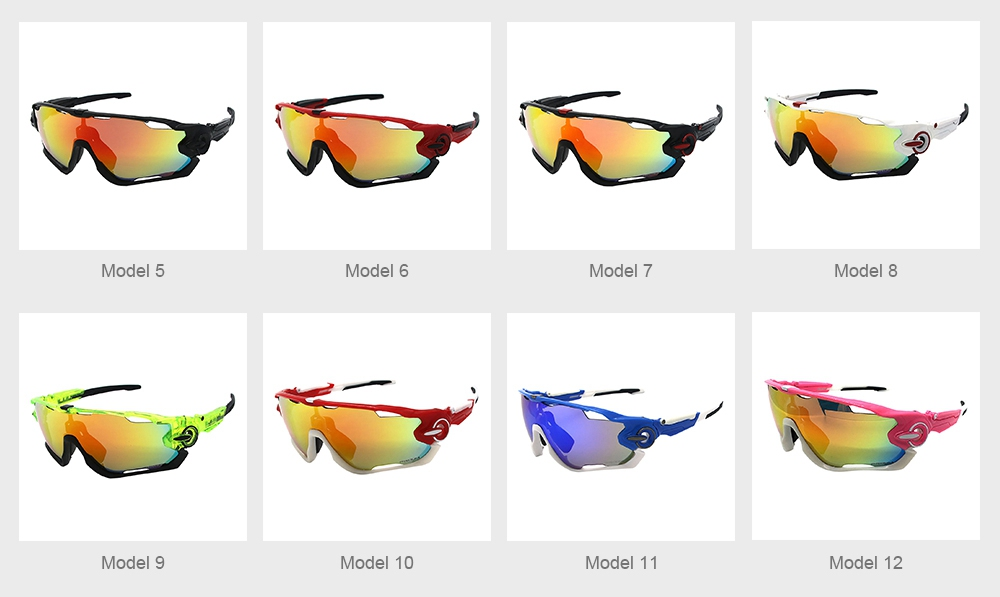 Multifunctional Stylish Wind Sand Resistance Outdoors Sports Mountain Climbing Bicycling Unsex Goggles Eye Protection Sunglasses 7