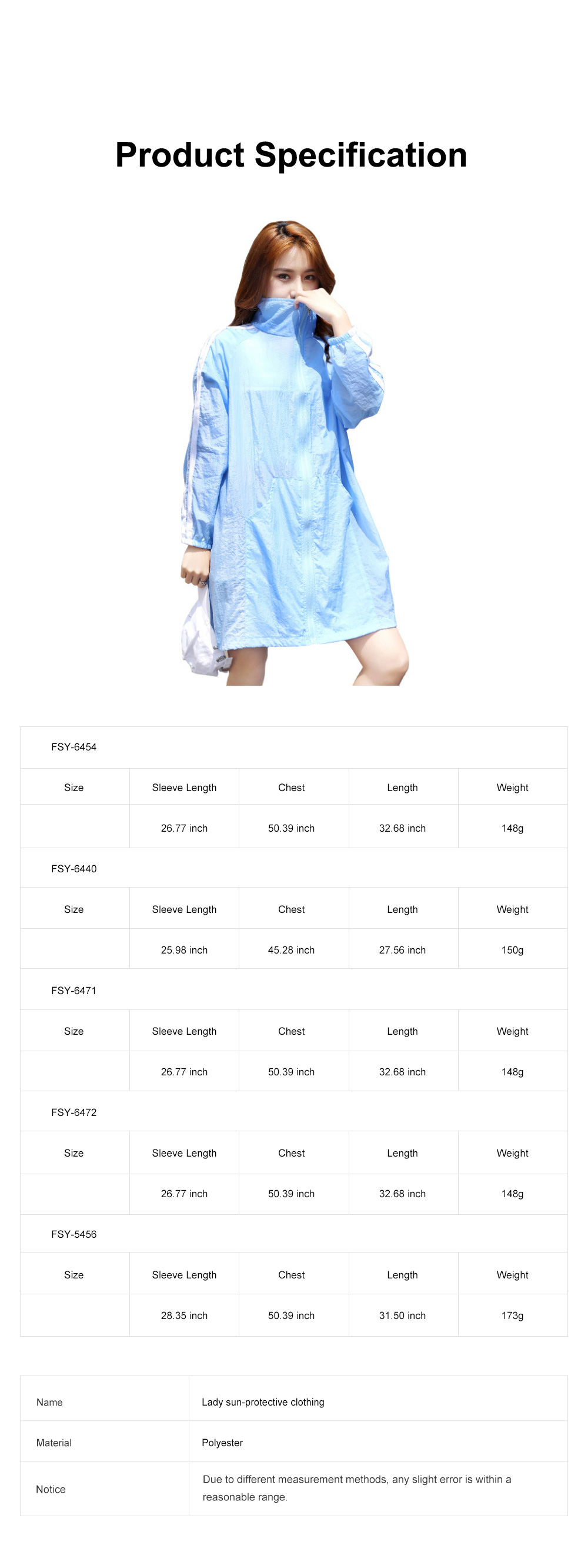 Stylish English Decoration Ultra-thin Sun-protective Clothing, Ultraviolet-Proof Quick Dry Outdoors Coat for Ladies 7