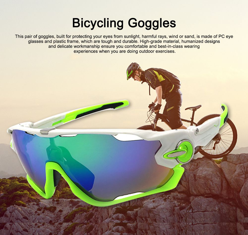 Multifunctional Stylish Wind Sand Resistance Outdoors Sports Mountain Climbing Bicycling Unsex Goggles Eye Protection Sunglasses 0
