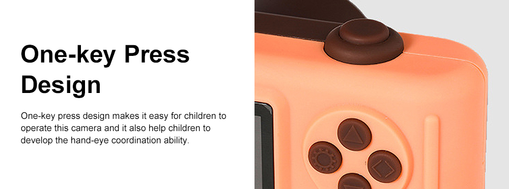 Cute Animal Model Mini Digital Camera for Children WIth Breaking-proof Silicone Shell 16G 1200W HD Pixel 2.0 inch Video Recorder Birthday Present 8