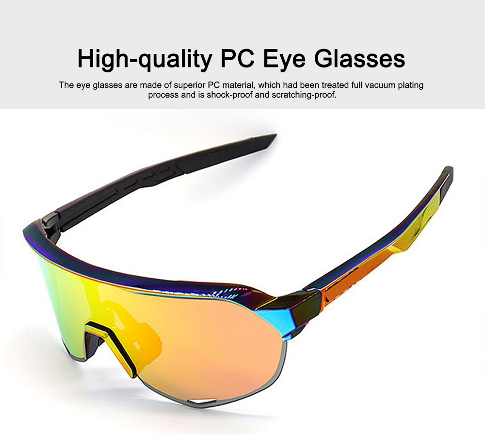 Functional Minimalist Outdoors Sports Mountain Climbing Bicycling Unsex Goggles Sunglasses Eye Protection Glasses 1