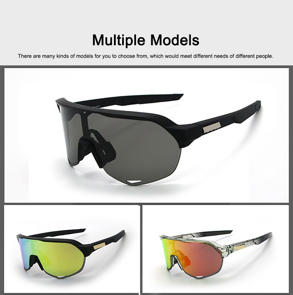 Functional Minimalist Outdoors Sports Mountain Climbing Bicycling Unsex Goggles Sunglasses Eye Protection Glasses 6