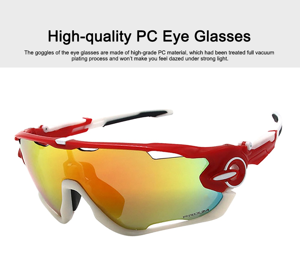 Multifunctional Stylish Wind Sand Resistance Outdoors Sports Mountain Climbing Bicycling Unsex Goggles Eye Protection Sunglasses 1