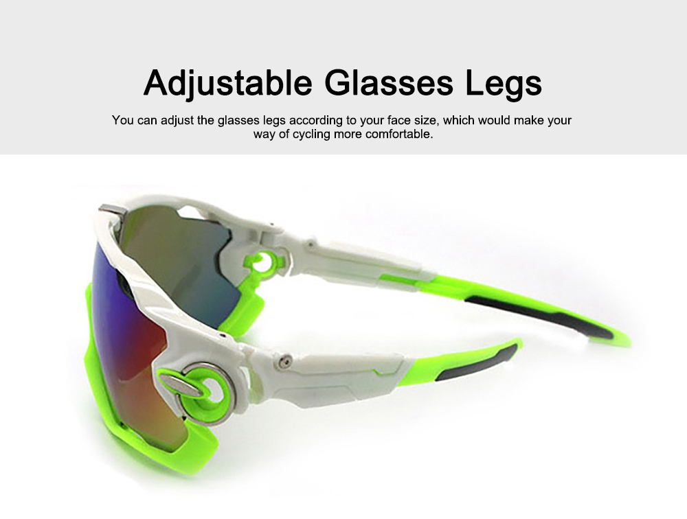 Multifunctional Stylish Wind Sand Resistance Outdoors Sports Mountain Climbing Bicycling Unsex Goggles Eye Protection Sunglasses 3