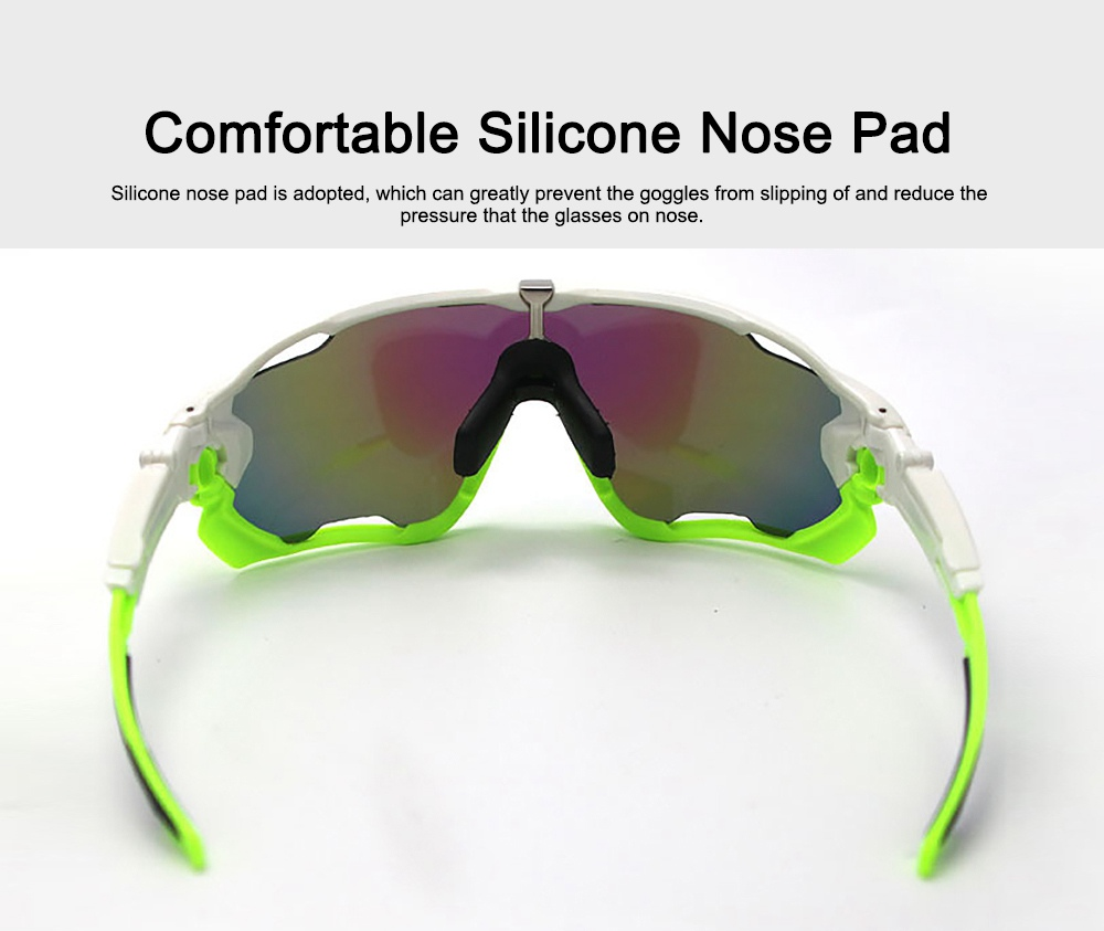 Multifunctional Stylish Wind Sand Resistance Outdoors Sports Mountain Climbing Bicycling Unsex Goggles Eye Protection Sunglasses 2