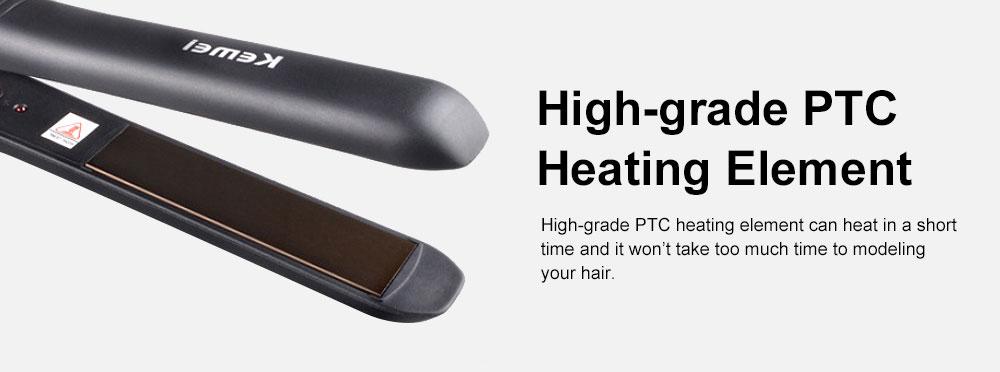 Portable Handy Delicate Household Hair Straightener Hair Modeling Tool with Heat Resistant Aluminum Alloy Splint 5
