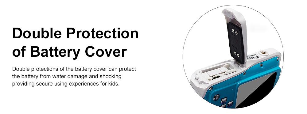 Delicate Portable Breaking-proof 3M Waterproof Children HD Digital Camera 21 Million Pixels Cam for Kids 5