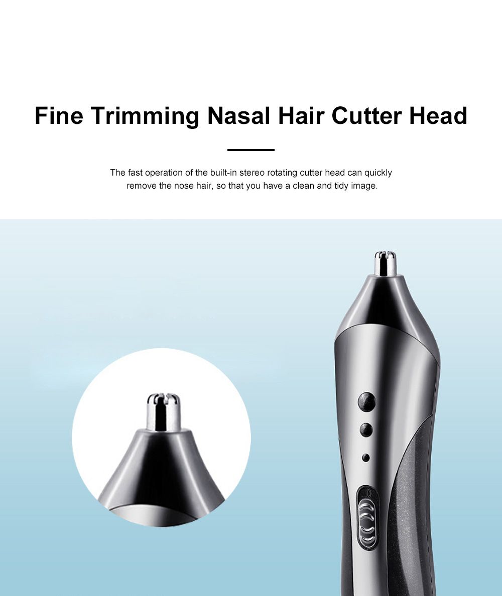 Multifunction Portable Washable Strong Power Bread Digital Shaver Nasal Hair Trimmer Hair Clipper with Floating Head 6