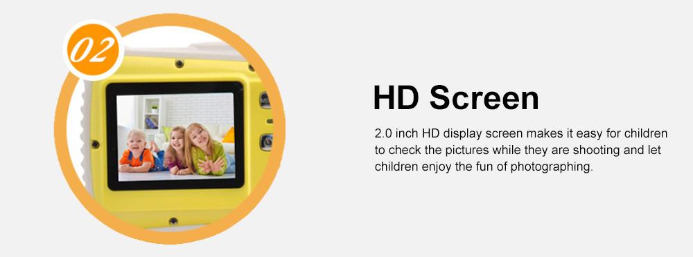 Cute Portable HD Waterproof Shock-proof 12 Million Pixels Zoom Digital Camera for Children 3M Waterproofing Cam 4