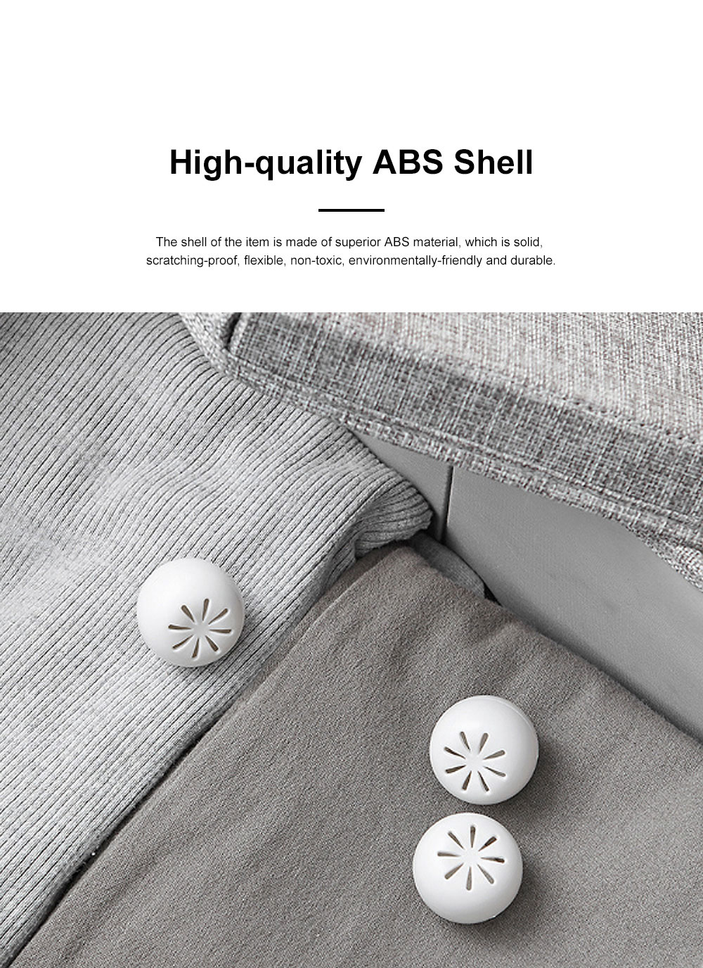 Small Exquisite Closet Wardrobe Bookcase Room Insect Prevention Mothproof Moisture-proof 8PCS Mothball Camphor Ball Set 3