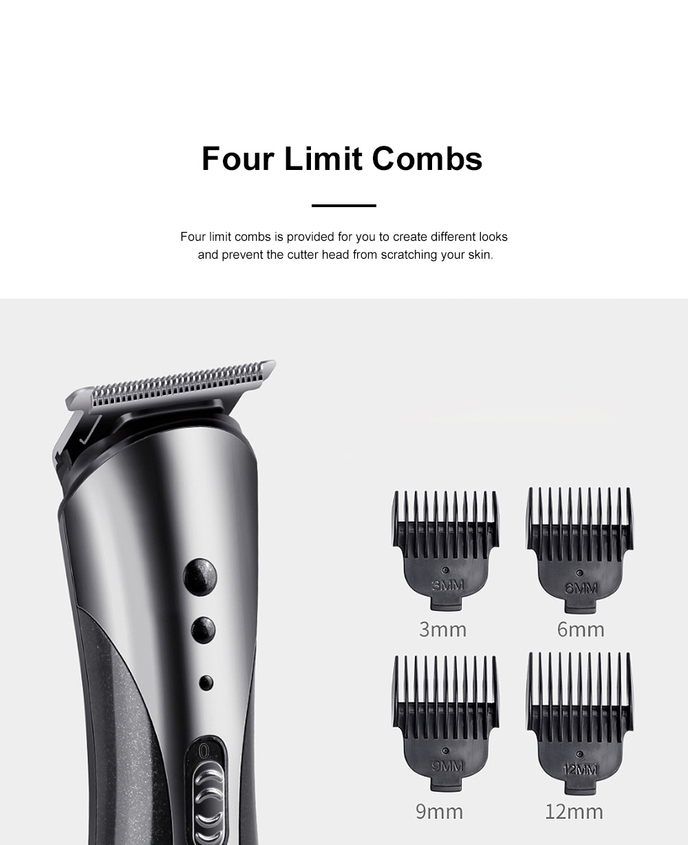 Multifunction Portable Washable Strong Power Bread Digital Shaver Nasal Hair Trimmer Hair Clipper with Floating Head 3