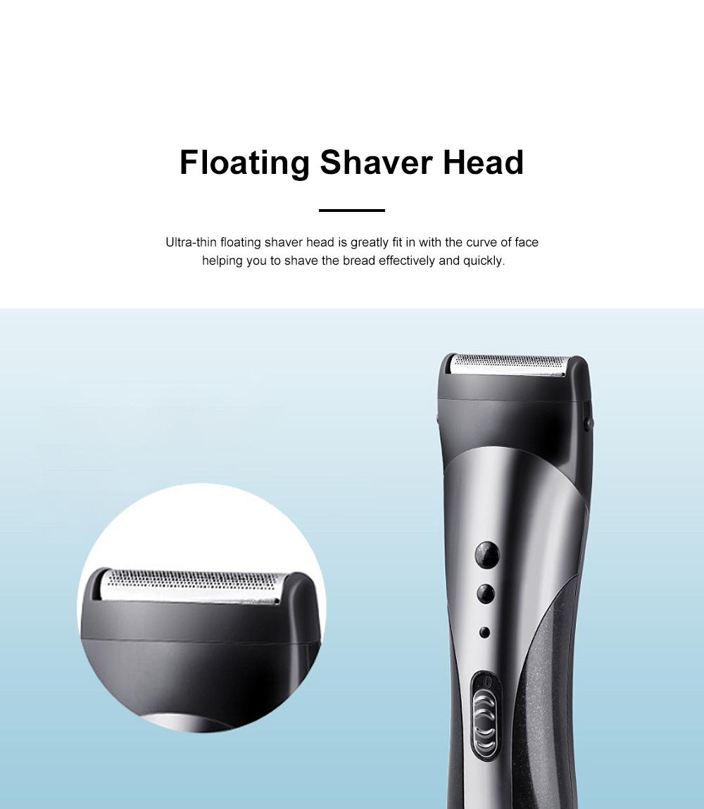 Multifunction Portable Washable Strong Power Bread Digital Shaver Nasal Hair Trimmer Hair Clipper with Floating Head 4