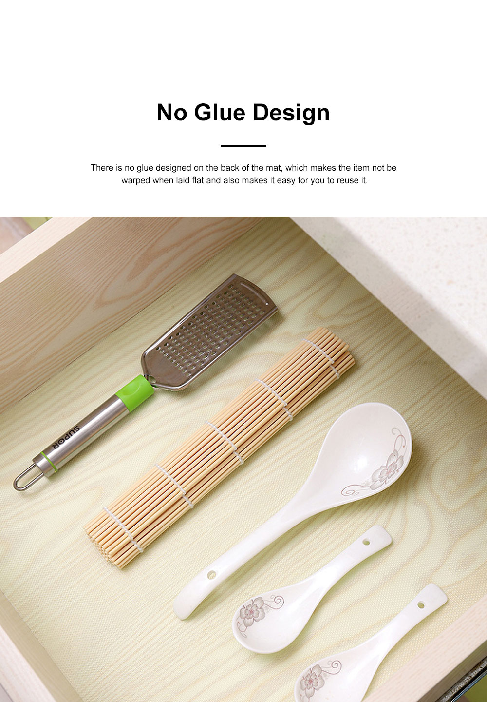Simple Transparent Cuttable Tailorable Waterproof Moisture-proof Dust-proof Drawer Wardrobe Pad Oil-proof Cabinet Mat 2