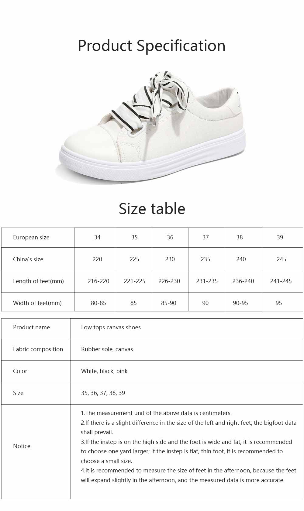 Low Tops Canvas Shoes for Women and Girls Fashion Style Breathable Canvas Microfiber Lining Rubber Sole Chalaza sneakers 6