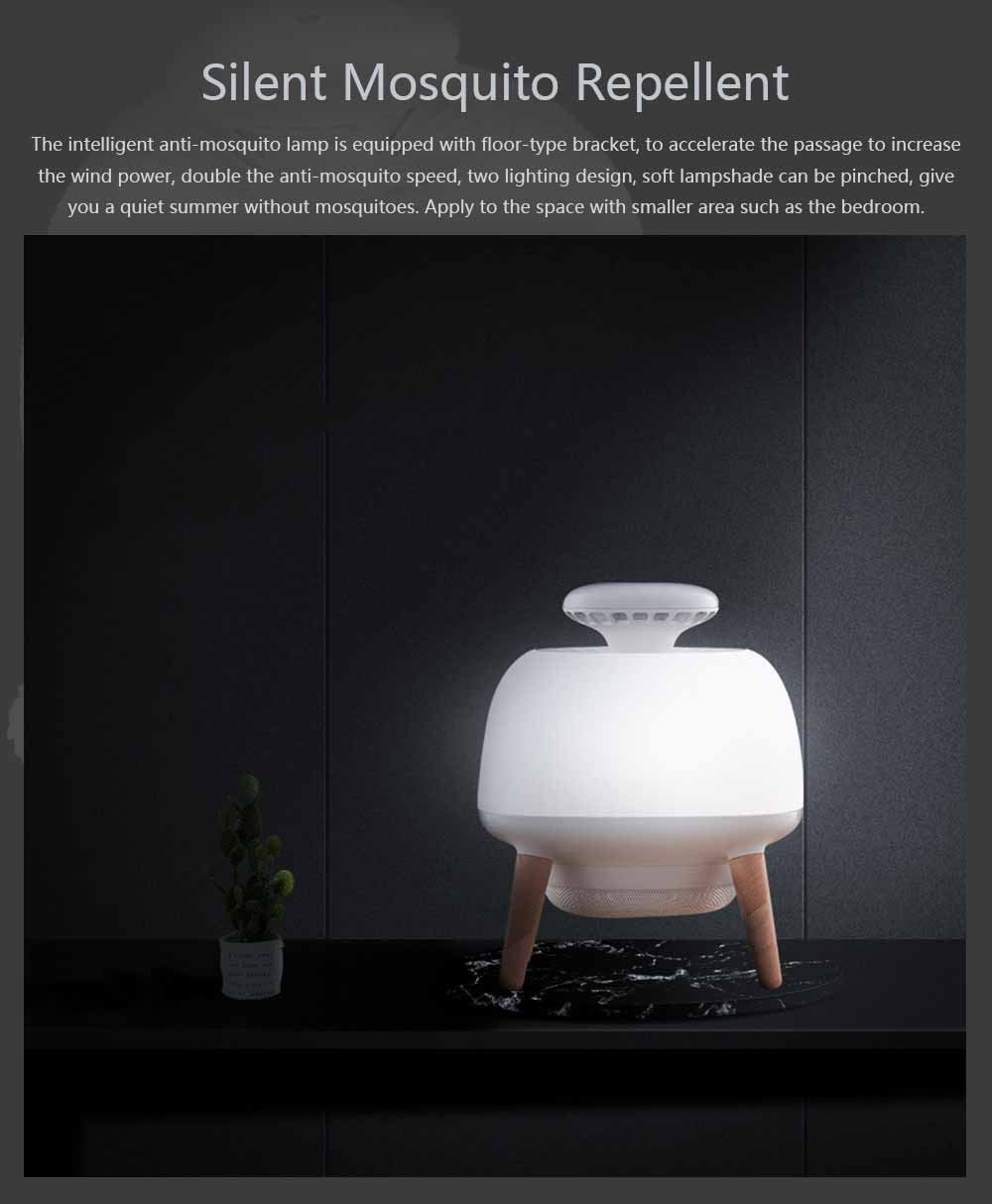 Silent Mosquito Repellent for Baby Pregnant Women Elderly Intelligent Light Control Mosquito-killing Lamp 0
