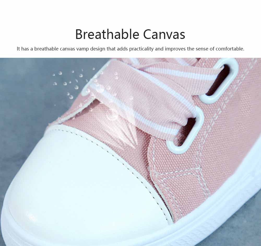 Low Tops Canvas Shoes for Women and Girls Fashion Style Breathable Canvas Microfiber Lining Rubber Sole Chalaza sneakers 2