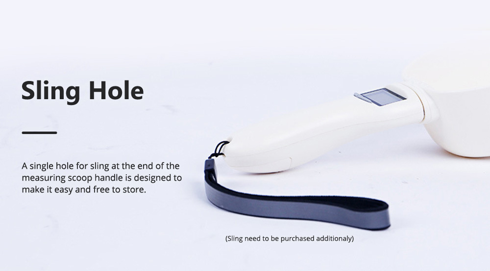 Electronic Measuring Scoop Food Grade PP Measuring Spoon for Dog Cat Rabbit Hamster Necessary Pet Product Cat Food Electronic Scale 8
