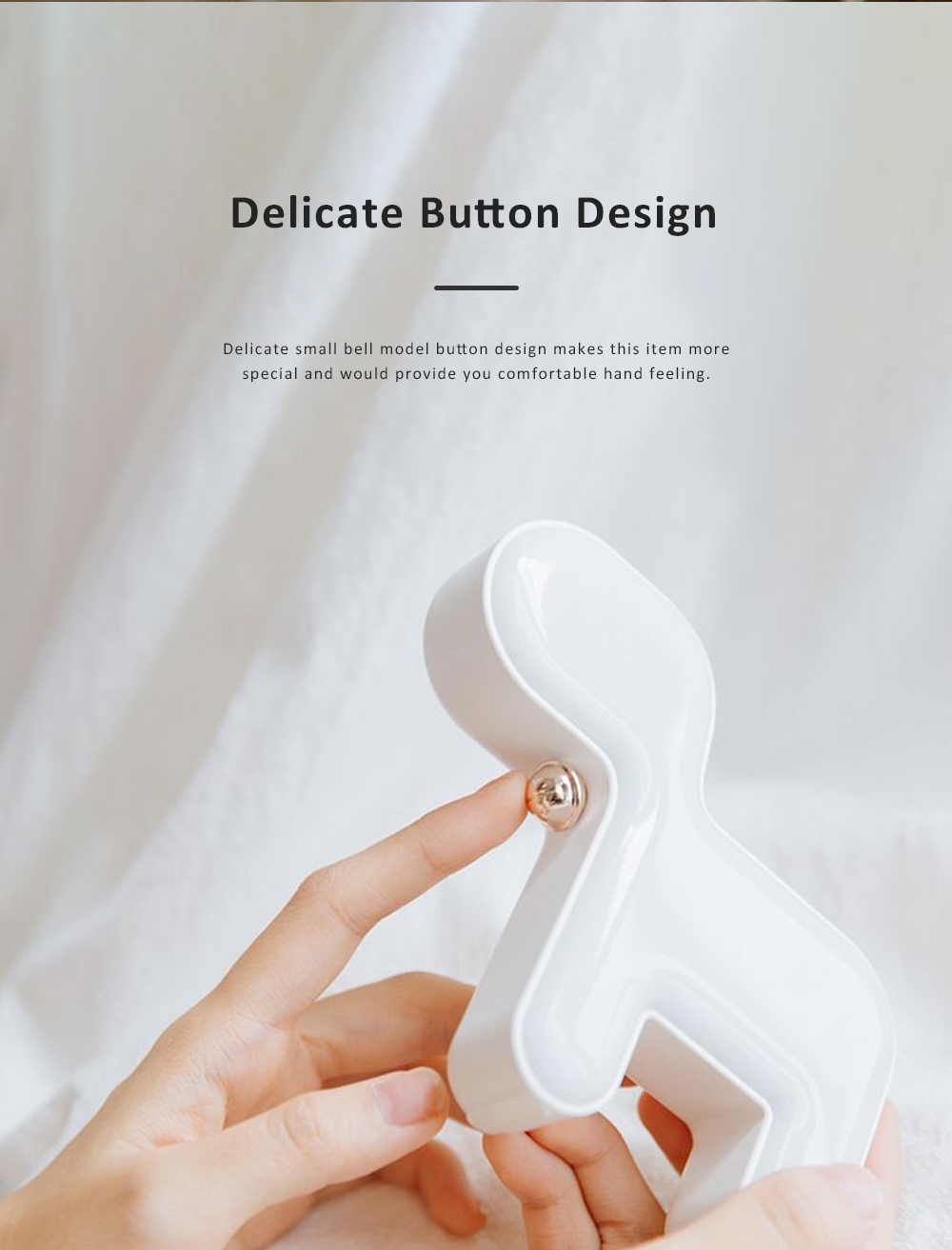 Cute Delicate Dog Bedroom Bedside Night Light Large Capacity Energy-saving LED Baby Comfort Lamp 3
