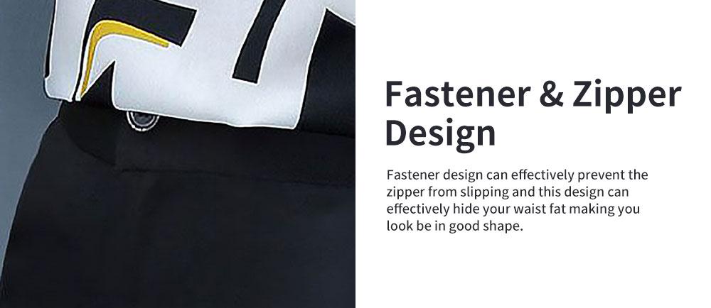Stylish V-Neck Line Chiffon Shirt Loose Pants Suit for Ladies Minimalist Geometric Figure Pattern Decorative Tops with Falbala Sleeves 5