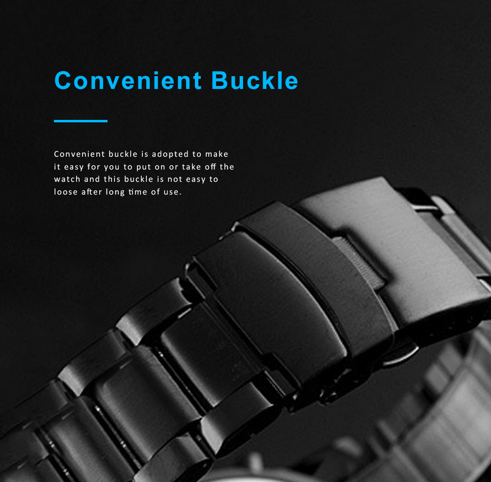 Minimalist Casual Fashionable Multifunctional Three Times Big Dial Men Electronic Movement Wrist Watch With Classic Steel Strap 5