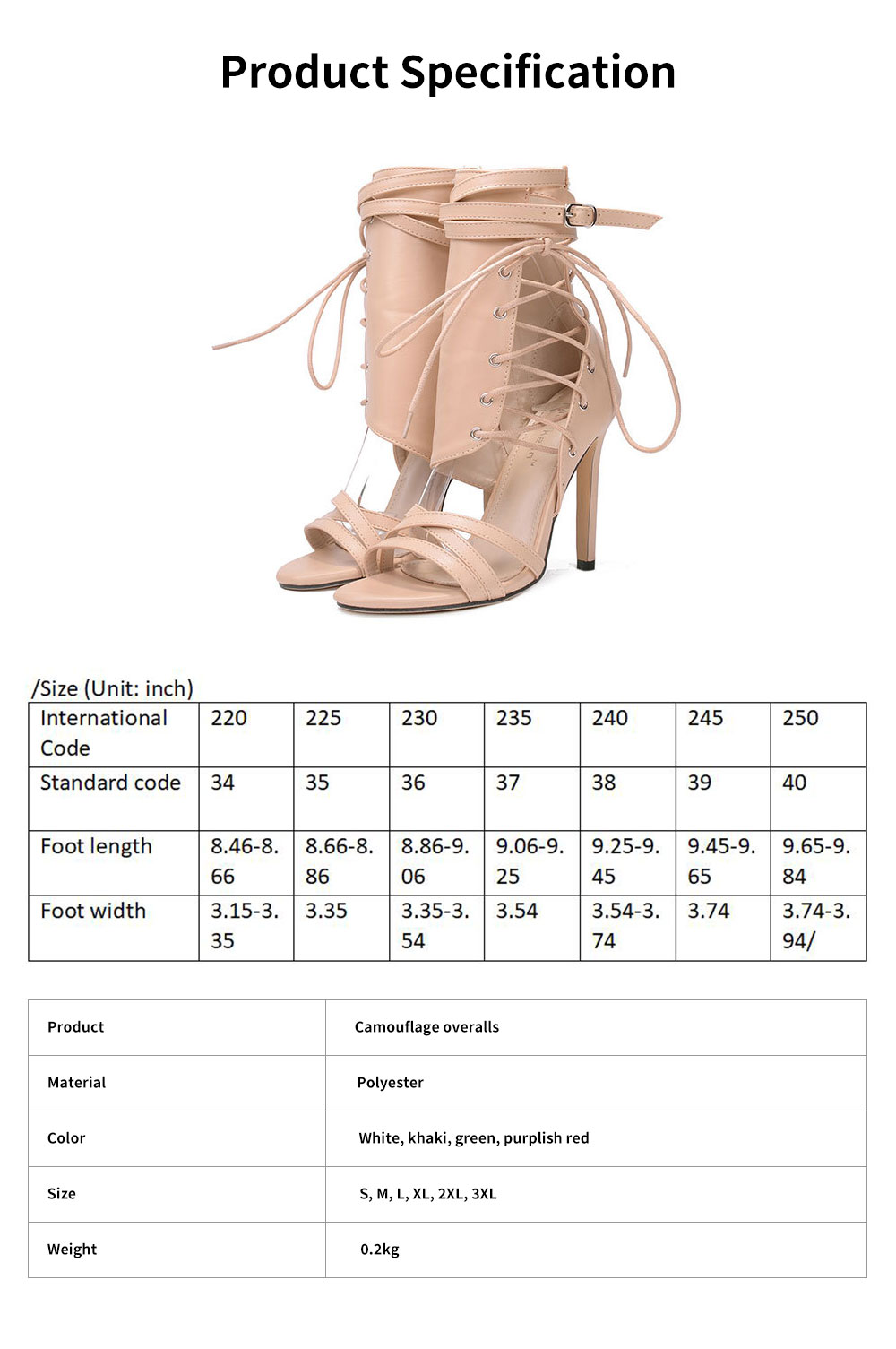 Large Strap Buckle High Heel Boots, Roman Style Fashionable Sexy Boots for Women 6