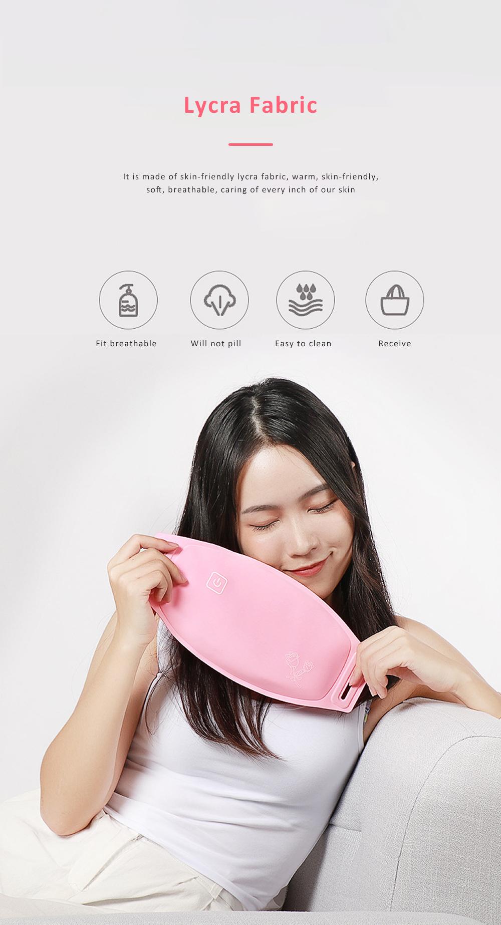 Heating Belt for Women Warm Uterus Graphene Heats up Quickly Intelligent Constant Temperature Warmer Tool with Vibration Massage 6