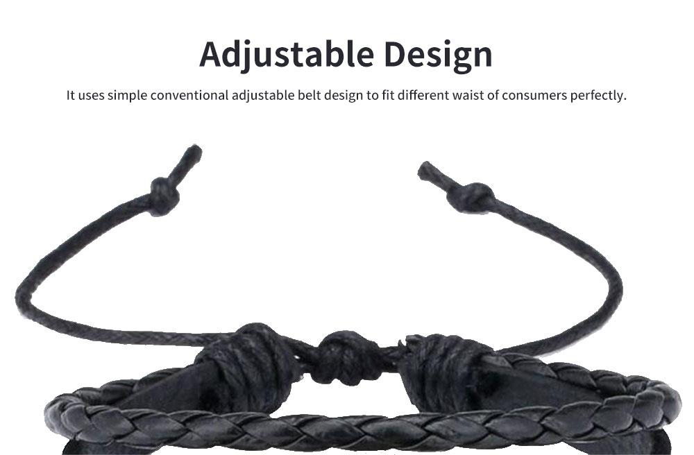 Unicorn Bracelet Ornaments Glass Material Imitation Leather Adjustable Belt Hand Catenary 3