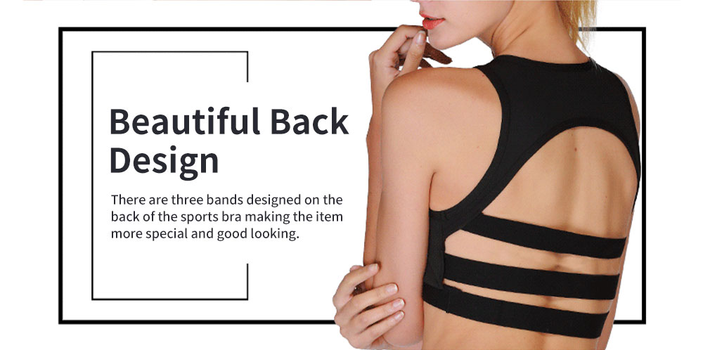 Minimalist Sexy Mesh Splicing Lady Sports Bra Quick-dry Breathable Yoga Dancing Athletic Vest for Women 4