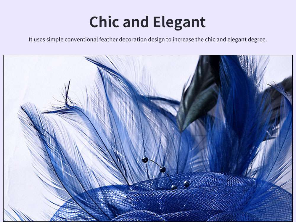 European and American Style Corsage for Party and Dinner Chic Elegant Three-dimensional Plentiful Good Stationarity Hair Accessory 2