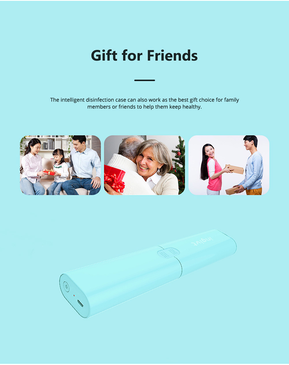 Intelligent Disinfection Box for Office Business Trip Dinning Food Grade Ultraviolet Sterilizer Mini USB Disinfection Portable Ozone Sterilization Cutlery Disinfecting Case 11