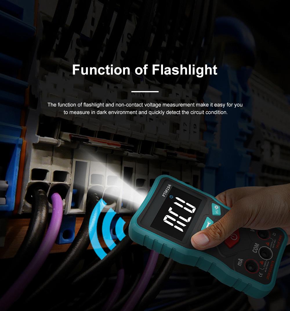 Multimedia Digital Meter New Full Intelligent AC DC Digital Multimeter with Mini-VA Screen 4