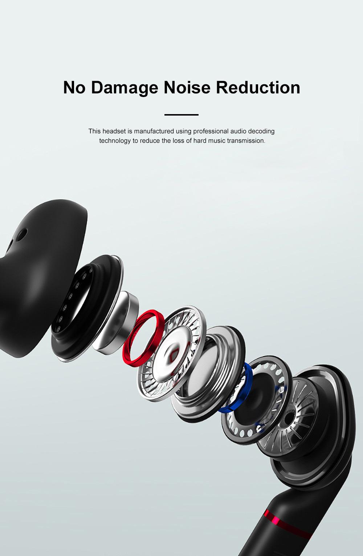 New Earhook TWS Bluetooth Headset Wireless 5.0 Ear-mounted Touch Headset Sport Earphone 1