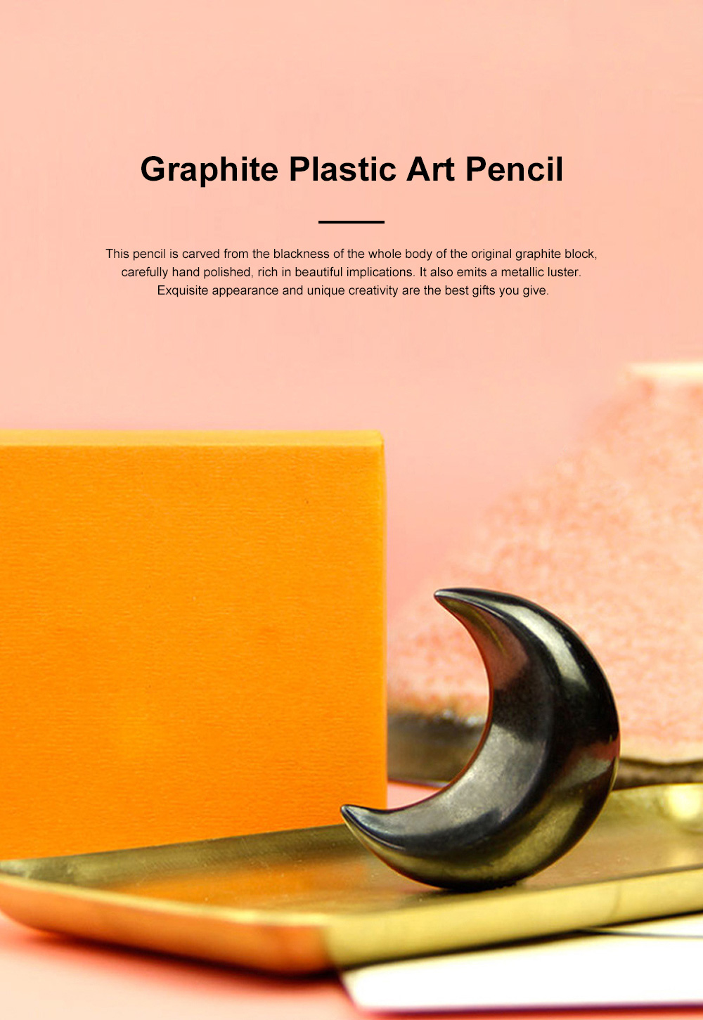 Graphite Plastic Art Pencil Marine Graphic Graphite Pencil Good Looking Decoration Pencil 0