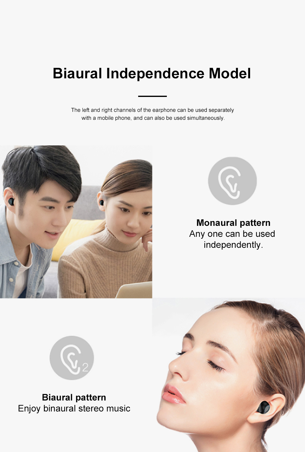 Macron X20S Bluetooth Headset Wireless Bluetooth 5.0 with Charging Treasure TWS Mobile Bluetooth Headset 12