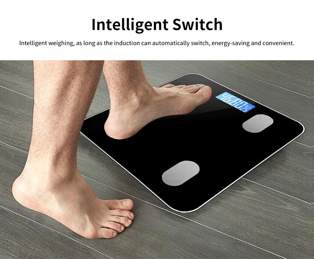Adult Intelligent Bluetooth Body Fat Scale, Multifunctional Household Electronic Scale, High Precision Weight Scale 4
