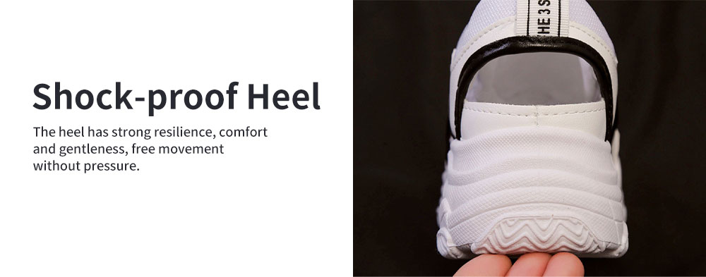 Ladies' Hollow-out Sports Shoes, Lady Breathable Cave Daddy Shoes and Net Shoes Summer 2020 4