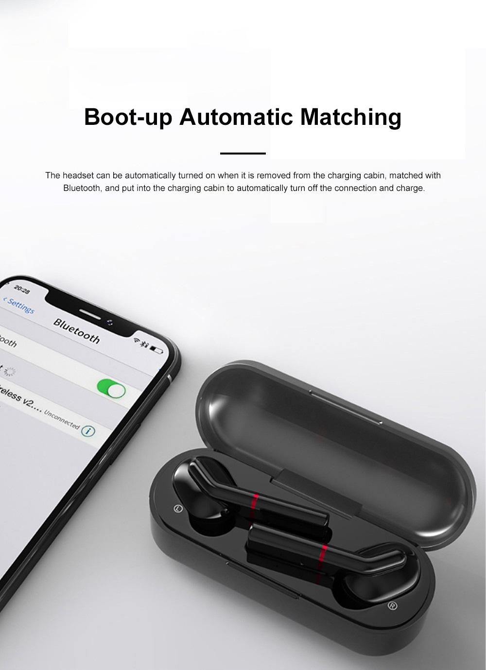New Earhook TWS Bluetooth Headset Wireless 5.0 Ear-mounted Touch Headset Sport Earphone 3