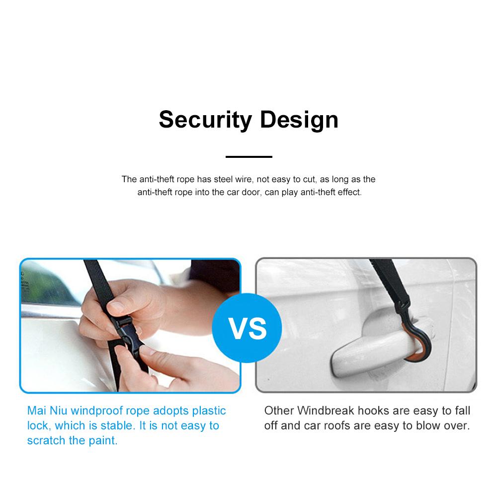 4.5m Car Umbrella Sunshade Sun Heat-proof Lightweight Car Parasol Anti-theft Car Umbrella with Remote Control Function 7