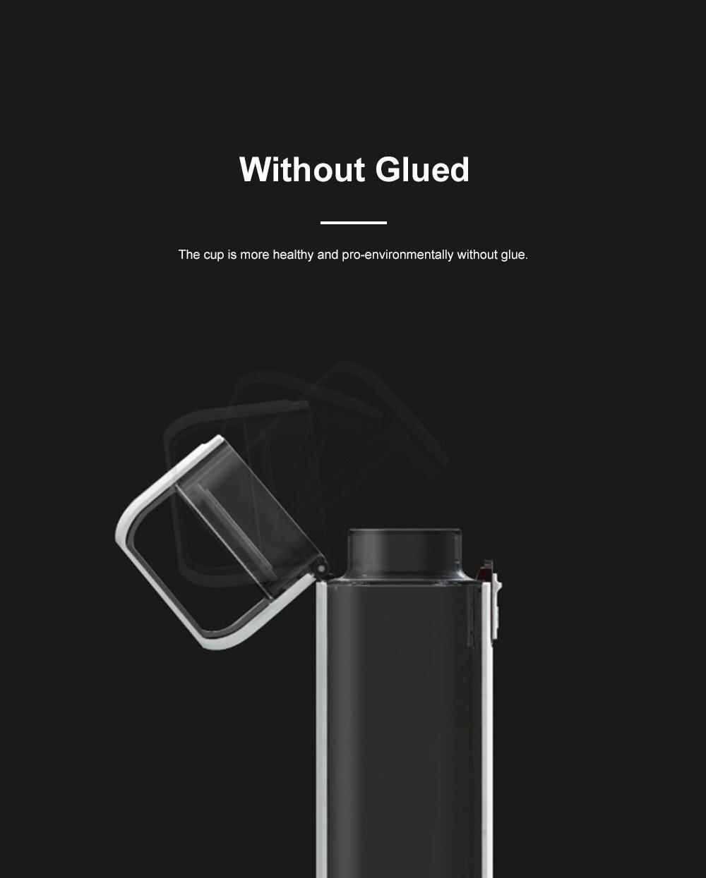 Advanced Pure Color Leakproof Click Open Water Bottle BPA Free Tritan Plastic Aquarius Business Gift 4