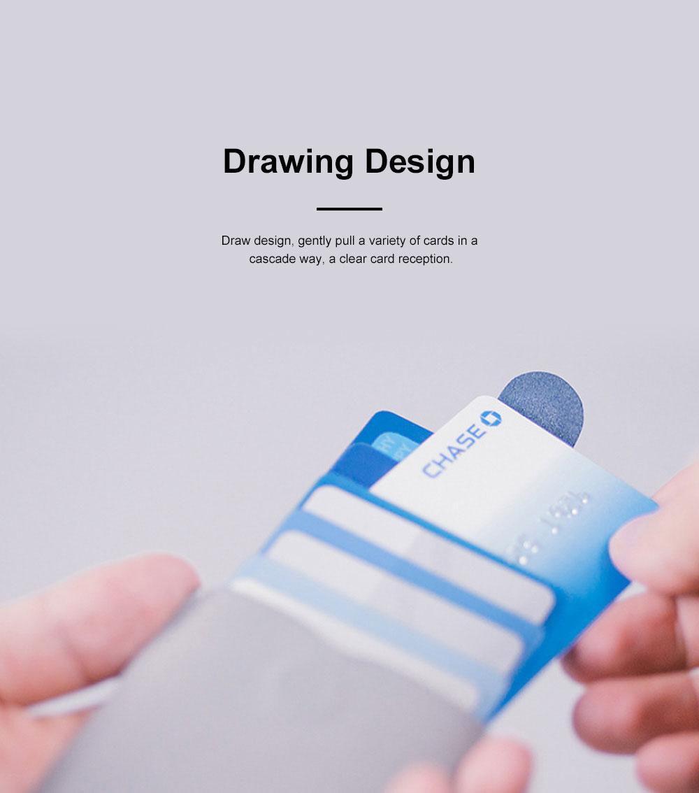 DAX 2.0 Multi-card Wallet Cascading Progressive Fashion Multi-card Wallet Men's and Women's Wallets 1