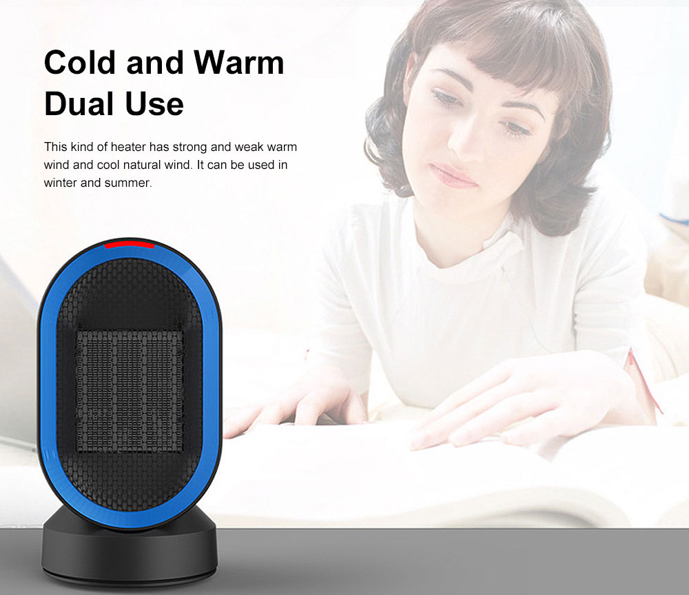 Miniature Home Heater Thermoelectric Heater Dual-purpose Desktop Heaters for Office 2