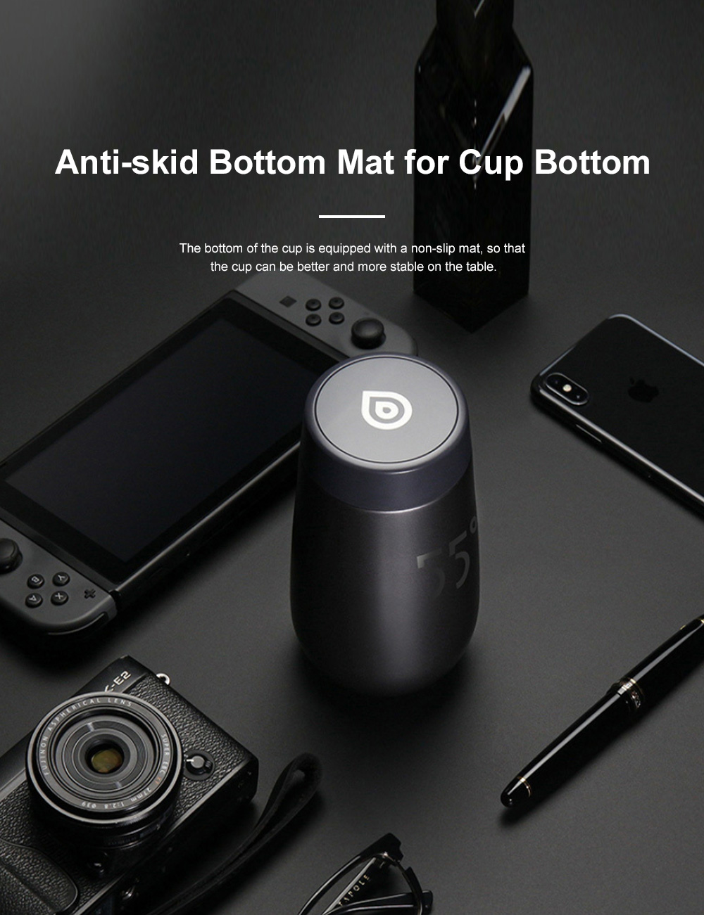 LKK Intelligent Quick Cooling Cup Creative Water Cup Home Portable Handy Cup 5