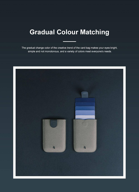 DAX 2.0 Multi-card Wallet Cascading Progressive Fashion Multi-card Wallet Men's and Women's Wallets 6
