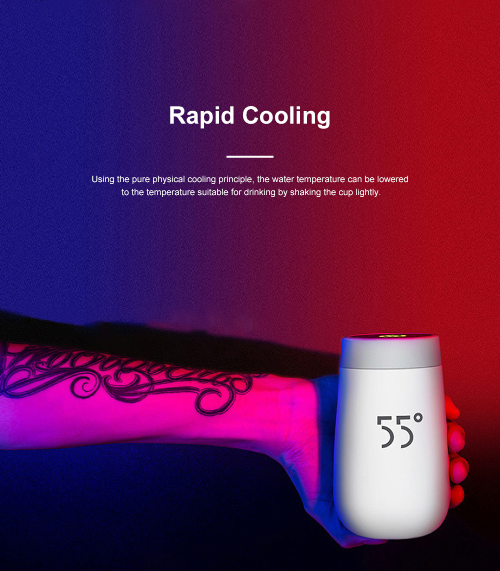 LKK Intelligent Quick Cooling Cup Creative Water Cup Home Portable Handy Cup 2