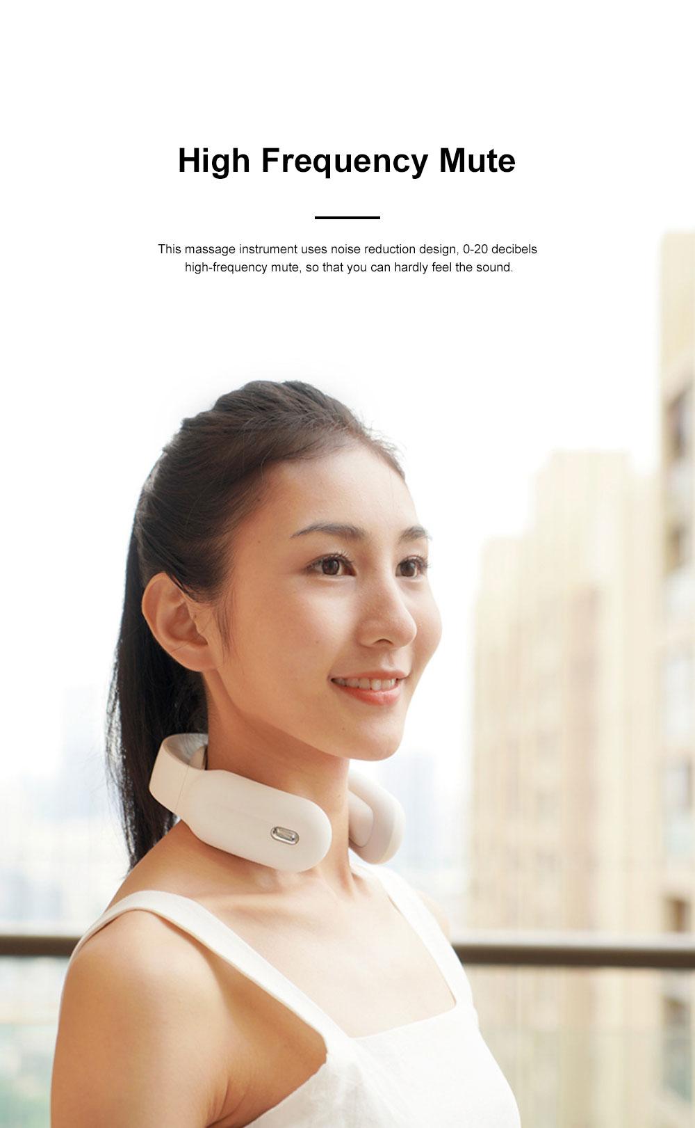 Household Electric Neck Massage Instrument Intelligent Multifunctional Nursing Instrument for Neck Shoulder Waist and Neck 5